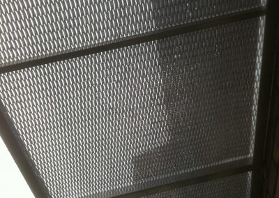 Aluminium-Mesh-Perspex-French-Door-Shade