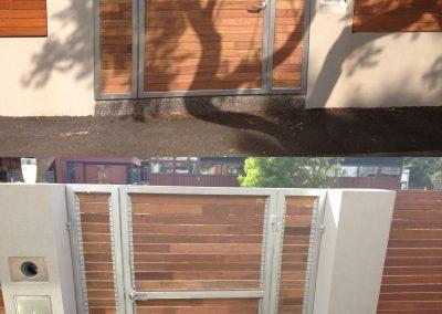 Merbau-Aluminium-Gate-Steel-Frame