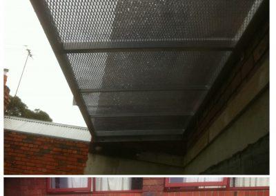 Waterproof-Aluminium-Mesh-Perspex-French-Door-Shade-Awning