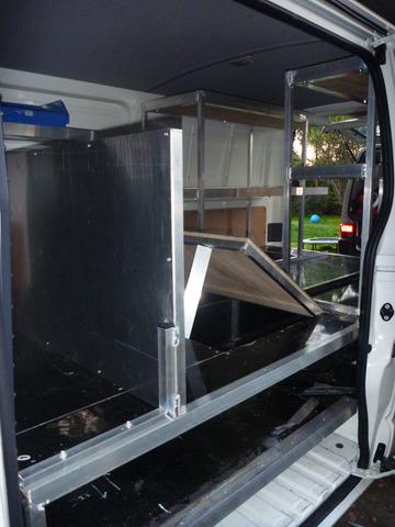 Aluminium-Toyota-Van-Shelves-Work-Modification